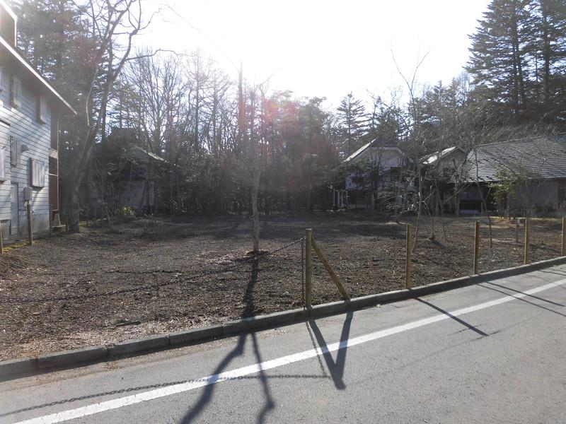 【売土地】旧軽井沢・六本辻至近土地