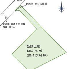 土地位置図